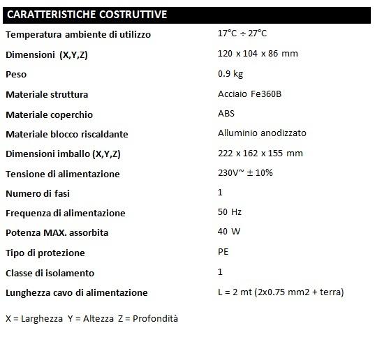 B-TEST-CARATTERISTICHE
