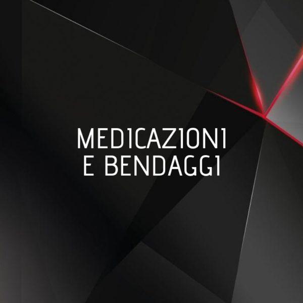 MEDICAZIONI E BENDAGGI