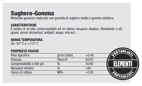 SUGHERO-GOMMA
